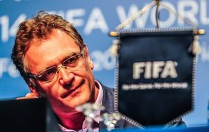 Jerome Valcke FIFA coletiva Copa do Mundo Florianopolis (Foto: Cadu Rolim/Agência Estado)