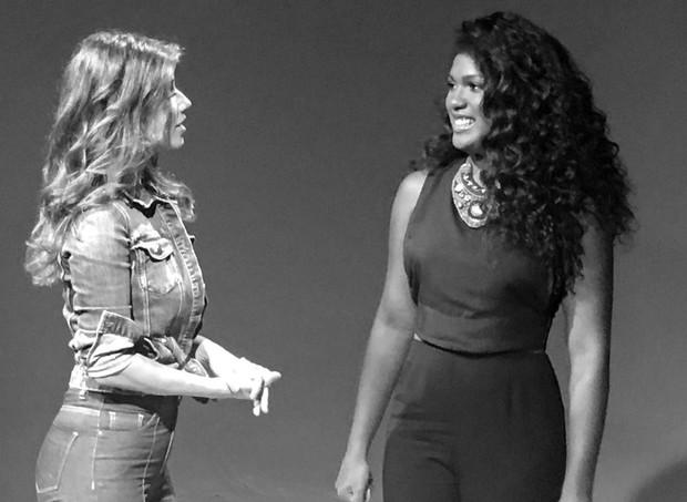 Paula Fernandes com Mylena Jardim (Foto: Reprodução/Instagram)