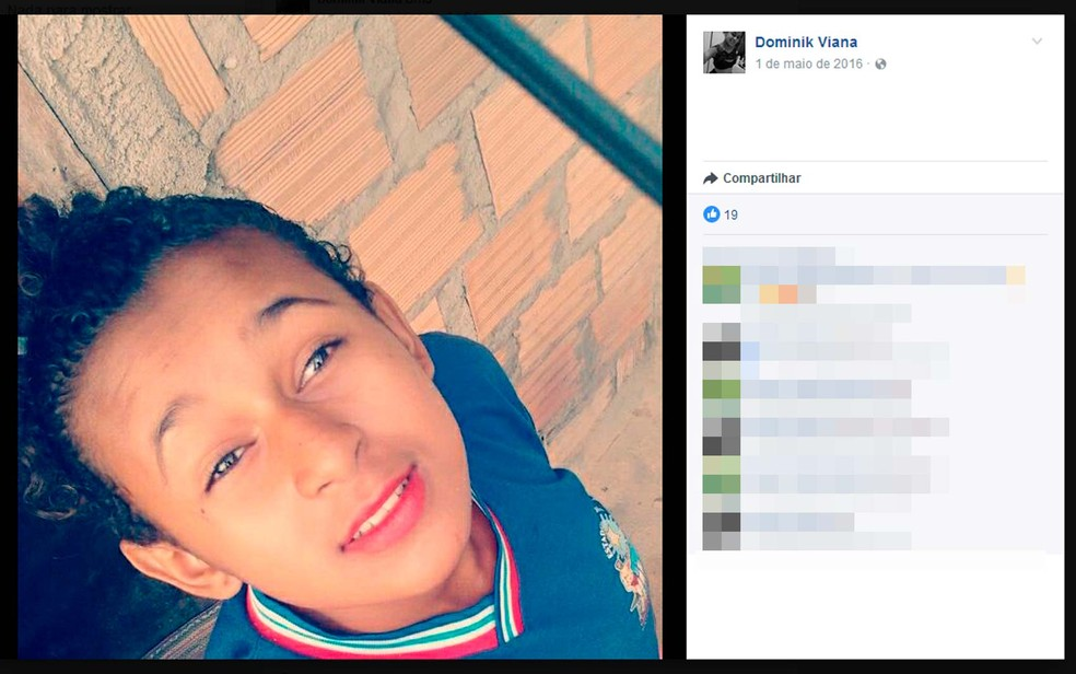 Adolescente foi morta por ex-namorado que não aceitava o fim da relação (Foto: Reprodução/Facebook)