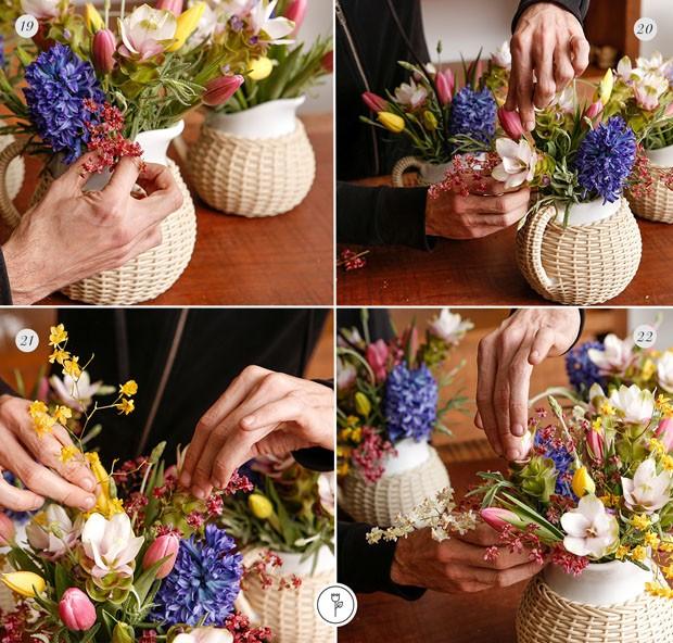 Faça você mesmo: arranjos em jarras (Foto: Julio Acevedo)