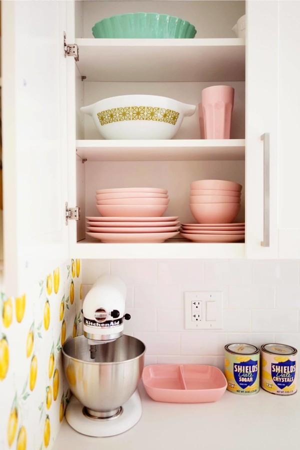 Na cozinha (Foto: Instagram @abeautifulmess)