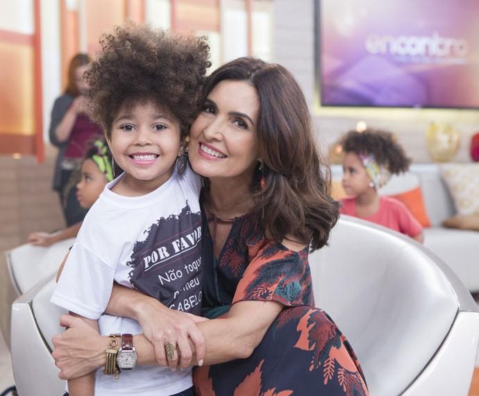 As crianças brilharam no programa nesta segunda, 9/5 (Foto: Fábio Rocha/Gshow)