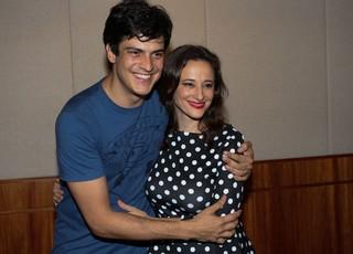 Mateus Solano e Paula Braun (Foto: Cláudio Augusto/Photo Rio News)