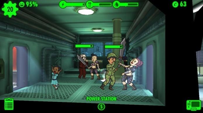 Fallout Shelter: incidentes como invasões e incêndios diminuem a felicidade dos Dwellers (Foto: Reprodução/Digital Trends)