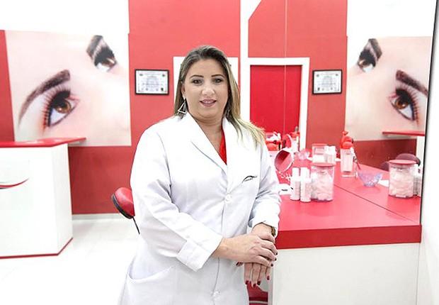 Luzia Costa, criadora da Sobrancelhas (Foto: Divulgação)