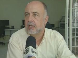 Antenor Varolla, gerente regional do Ministério do Trabalho em Piracicaba (Foto: Reprodução/EPTV)