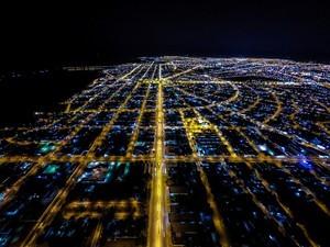 Roraima completa 27 anos nesta segunda (5); na foto, vista aérea da capital Boa Vista (Foto:  Platô Filmes e Câmera Pró Filmes/Arquivo pessoal)