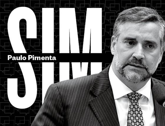 Paulo Pimenta, presidente da Comissão de Direitos Humanos da (Foto: Luis Macedo/Abr)