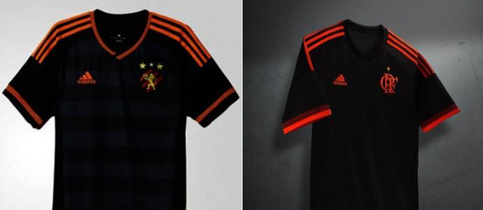 13e2ef209fcc4 Torcida do Sport vê plágio na nova terceira camisa do Flamengo