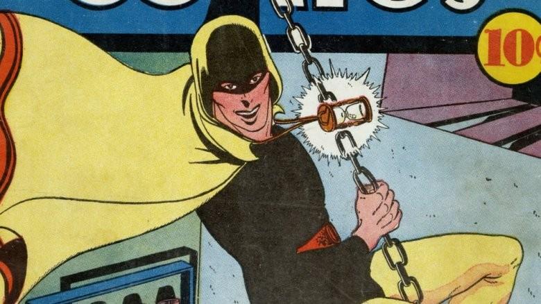 Alguns personagens da DC com o