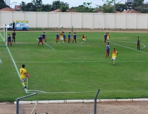 Porto Club e R1 no Estádio Aluízio Ferreira (Foto: Jussiê Nogueira arquivo pessoal)