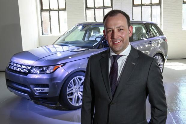 Diretor global de marketing e de produto da Jaguar Land Rover, Finbar McFall (Foto: Divulgação)
