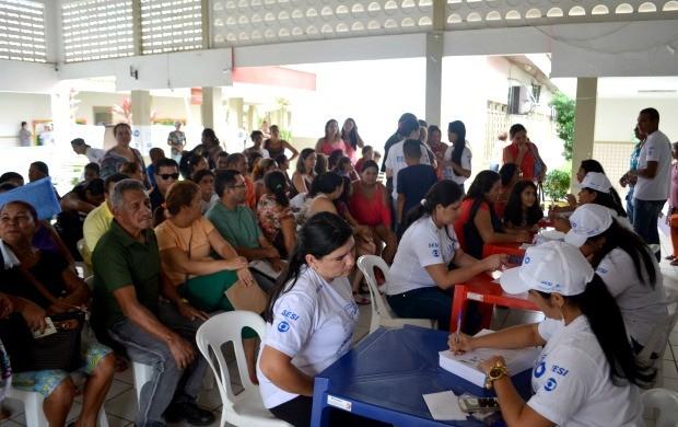 Organização da Ação Global estima que mais de 27,8 mil atendimentos foram realizados (Foto: Murilo Lima)
