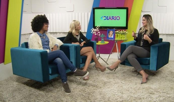 Blogueiras participaram do 'Mais Diário' deste sábado (2); assista  (Foto: Reprodução / TV Diário )