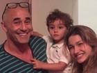 Luciano Szafir usa rede social para dar os parabéns para Sasha