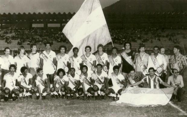 Time do Vitória-ES, campeão capixaba de 1976 (Foto: Acervo do Vitória Futebol Clube)