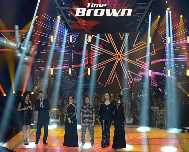 Joey Mattos Isadora Morais Princess La Tremenda Paula Marchesini Time Brown Tira-teima 2 (Foto: Camila Serejo/Gshow)