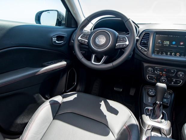 Auto Esporte Jeep Compass Trailhawk 2017 Primeiras Impress Es