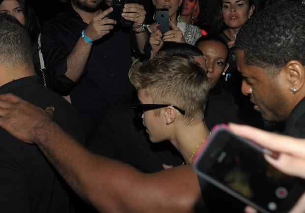 Justin Bieber em São Paulo (Foto: Francisco Cepeda/Agnews)
