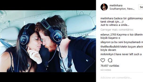 Metin Hara no Instagram (Foto: Instagram/Reprodução)