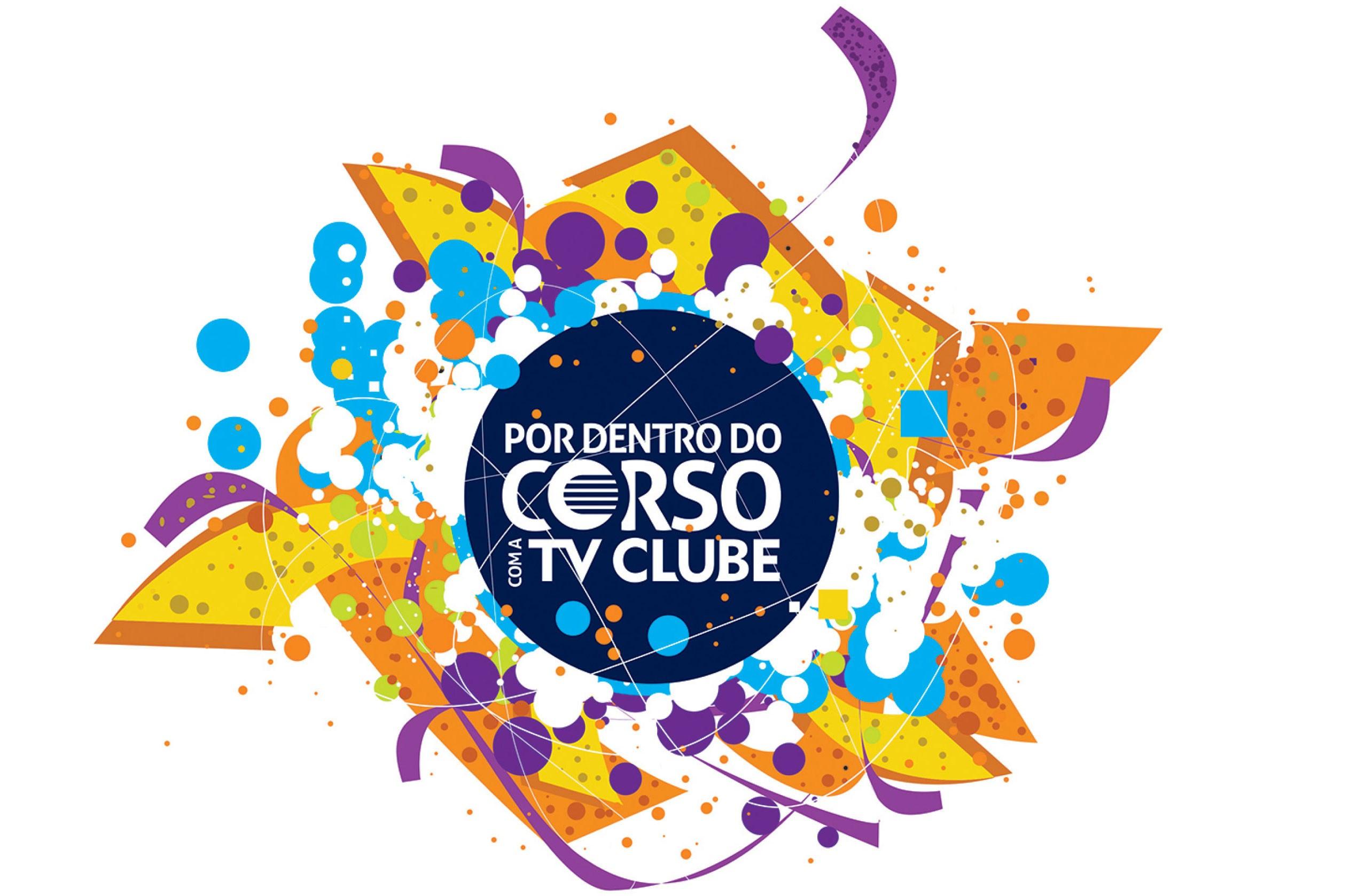 Logo de Carnaval da TV Clube (Foto: divulgacão)