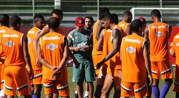 Enderson Treino Fluminense (Foto: Nelson Perez / Fluminense)