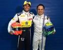 """Massa elogia xará Nasr, mas faz alerta: """"Tudo muda muito rápido na F-1"""""""