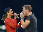 Rihanna e Coldplay se apresentam no encerramento das Paralimpíadas