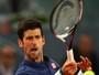 Djokovic conta com W.O. de Nishikori e aguarda Nadal na semi de Madrid