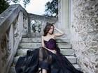 Gyselle Soares fotografa em castelo francês