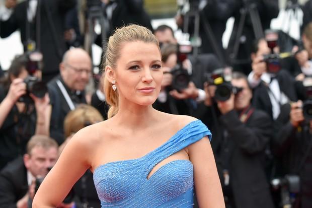 Blake Lively no Festival de Cannes (Foto: AFP)