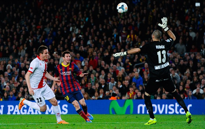 Messi Barcelona x Rayo (Foto: Getty Images)
