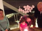 Daniela Albuquerque comemora 11 meses da filha