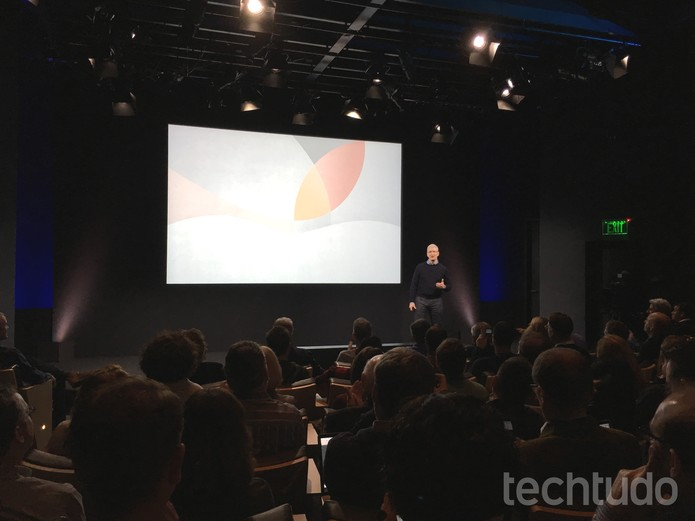Lançamento do iPhone SE (Foto: Thássius Veloso/TechTudo)