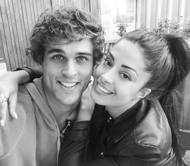 Aline Riscado e Felipe Roque (Foto: Instagram / Reprodução)