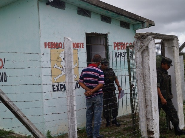 Finalidade da operação é intensificar a fiscalização de explosivos e produtos correlatos (Foto: Divulgação/Exército)
