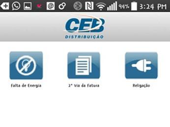 d83e851ad623 G1 - CEB lança aplicativo para celular que dá acesso à 2ª via de ...
