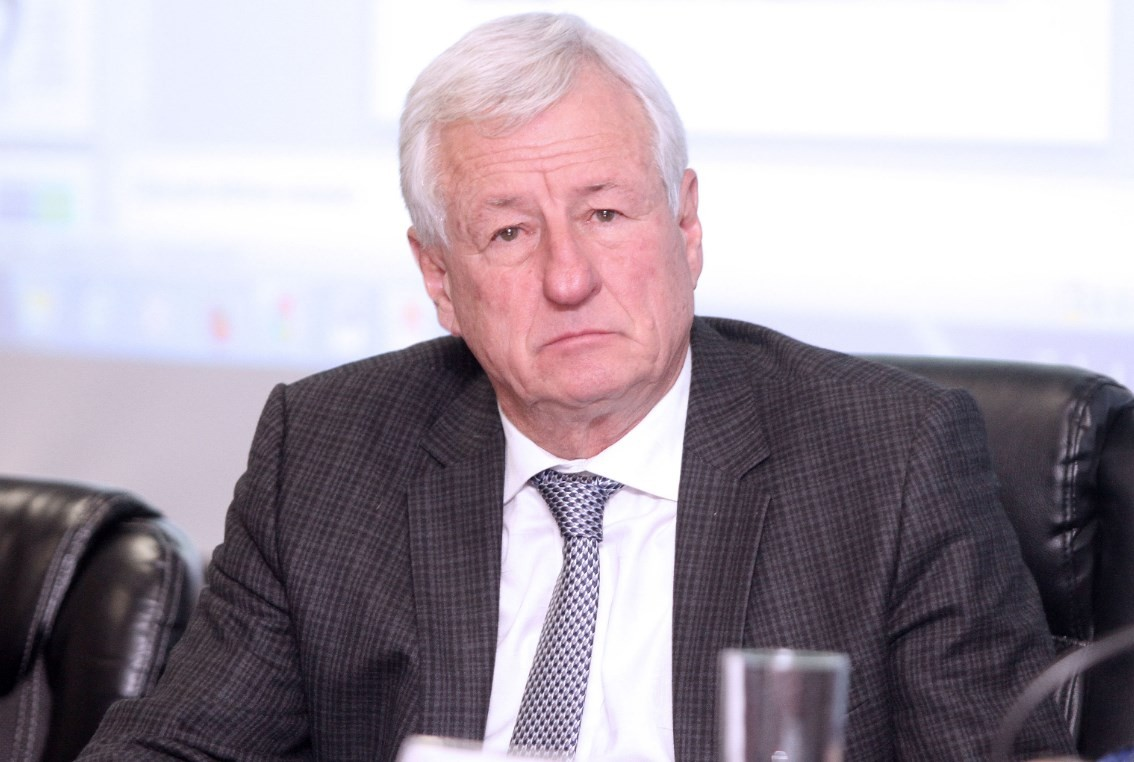 José Luis Martinelli, vice da FERJ e presidente interino