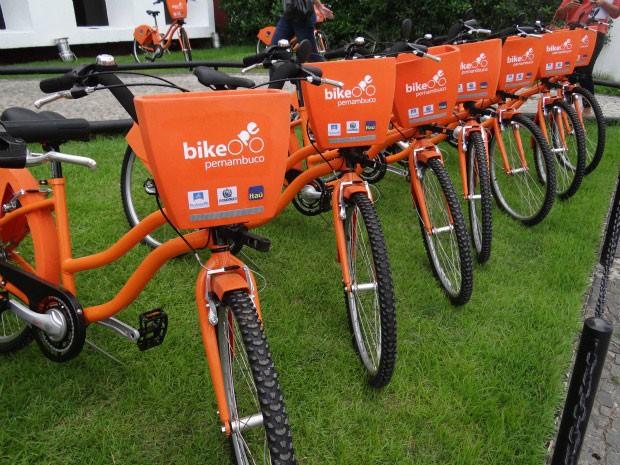 Projeto Bike PE (Foto: Lorena Aquino / G1)