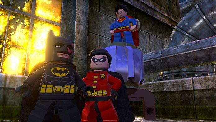 Lego Batman 2 reuniu os maiores heróis da DC Comics (Foto: Divulgação/WB Games)
