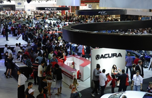 Salão do Automóvel de São Paulo (2012) (Foto: Divulgação)