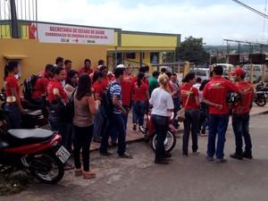 Agentes de endemias  (Foto: Genival Moura/G1)
