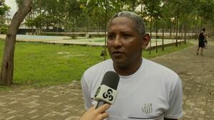 Elcio do Rosário; Santos-AP; Futebol (Foto: Reprodução/Rede Amazônica no Amapá)
