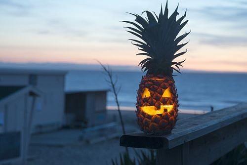 Jack da Lanterna abacaxi (Foto: Reprodução)