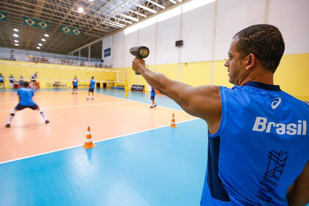 Brasil usa tecnologia a favor do voleibol  (Foto: Marco Antônio Teixeira/MPIX/CBV)