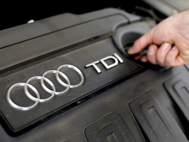Motores diesel da Audi também estão envolvidos em escândalo da VW (Foto: REUTERS/Wolfgang Rattay)