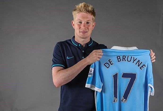 Kevin De Bruyne Manchester City (Foto: Divulgação)