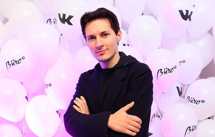 Pavel Durov criou a rede social aos 21 anos e é conhecido como Mark Zuckerberg russo (Foto: Reprodução/Droid.ru)