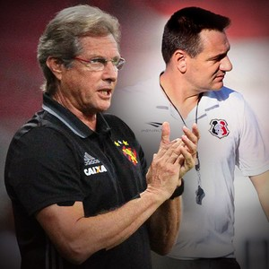 Carrossel Oswaldo de Oliveira x Doriva (Foto: GloboEsporte.com)