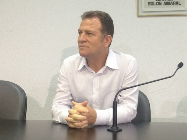 Deputado Major Araújo renuncia ao cargo de vice-prefeito de Goiânia, Goiás (Foto: Vanessa martins/G1)